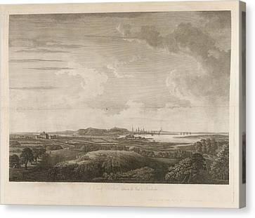 Boston Canvas Print by British Library