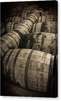 Bourbon Barrels Canvas Print