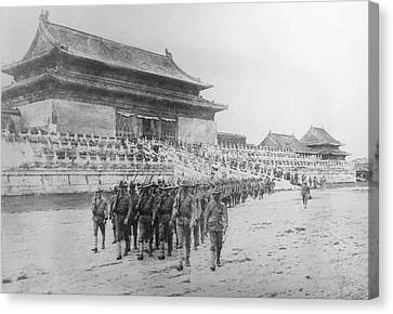 Boxer Rebellion, 1900 Canvas Print