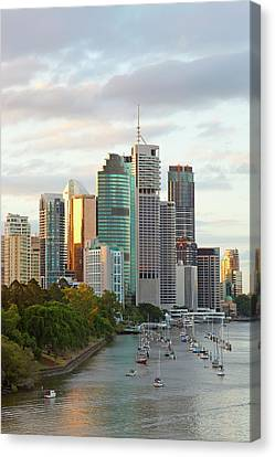 Brisbane Skyline, Queensland, Australia Canvas Print