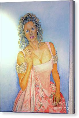 Buhlschaft Canvas Print by Dagmar Helbig