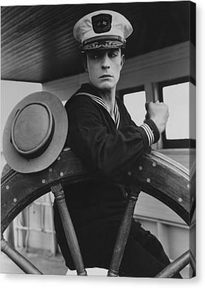Buster Keaton Canvas Print by Silver Screen