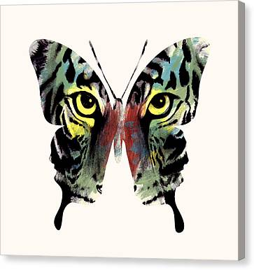 Butterfly 2 Canvas Print by Mark Ashkenazi