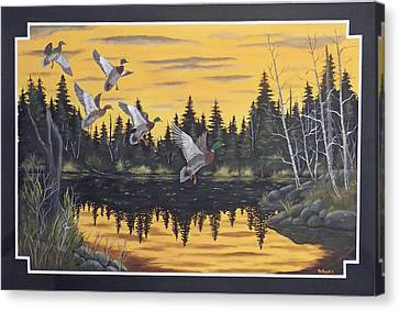 Bwca Canvas Print by Rudolph Bajak