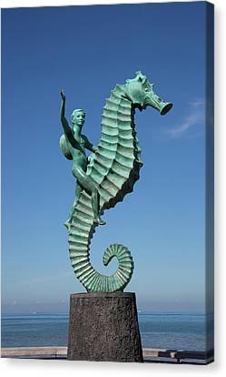 'caballero Del Mar' (the Seahorse Canvas Print