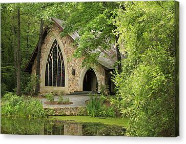 Callaway Gardens Chapel - Pine Mountain Georgia Canvas Print by Mountains to the Sea Photo