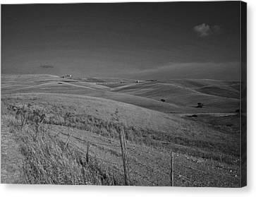 Tarquinia Landscape Campaign Canvas Print