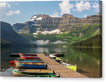 Canada, Alberta, Waterton Lakes Canvas Print by Jamie and Judy Wild