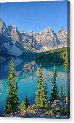 Canada, Banff National Park, Valley Canvas Print by Jamie and Judy Wild