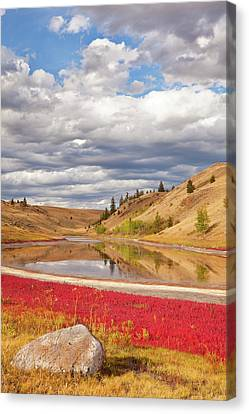 Canada, British Columbia, Kamloops, Lac Canvas Print