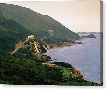 Canada, Nova Scotia, Cape Breton Canvas Print by Walter Bibikow