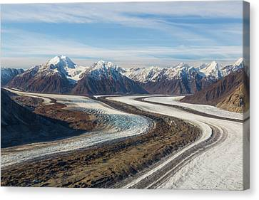 Canada, Yukon Territory, Kluane Canvas Print