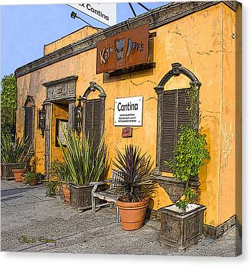 Cantina Canvas Print by Chuck Staley