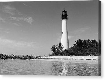 Cape Florida Lighthouse Canvas Print