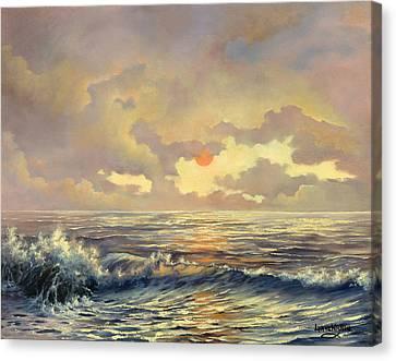Cappuccino Bay Canvas Print