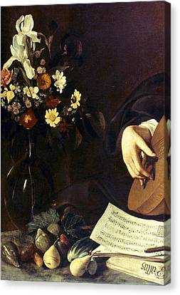 Caravaggio Luteplayer Canvas Print by Granger