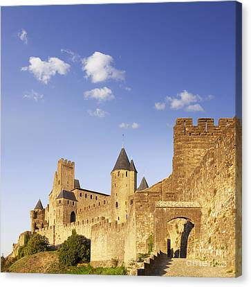 Carcassonne Languedoc-roussillon France Canvas Print by Colin and Linda McKie