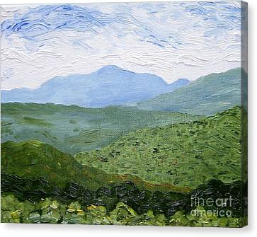Catskill Mountains Canvas Print by Kevin Croitz