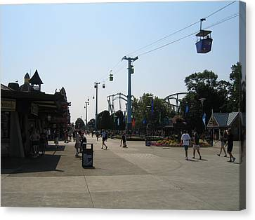 Cedar Point - 12124 Canvas Print by DC Photographer