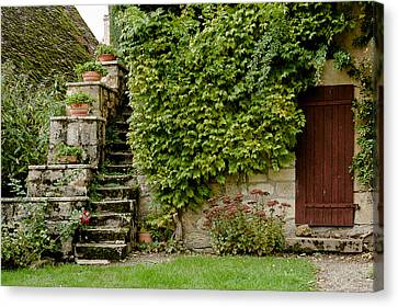Central France House Canvas Print