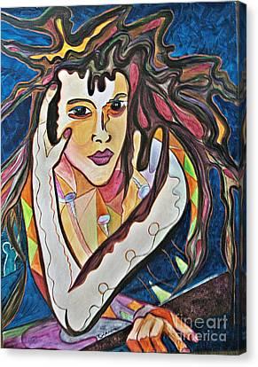 Changes Canvas Print by Diana Bursztein