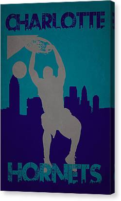 Charlotte Hornets Canvas Print