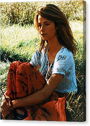 Charlotte Rampling Canvas Print by Silver Screen