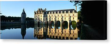 Chateau Canvas Print - Chateau De Chenonceaux Loire Valley by Panoramic Images