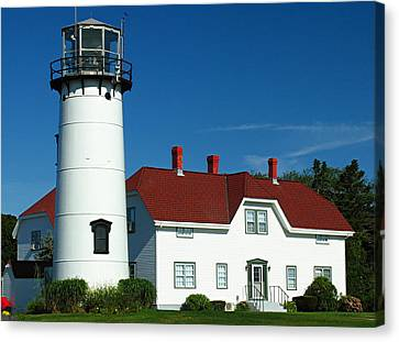 Chatham Lighthouse Canvas Print by Juergen Roth