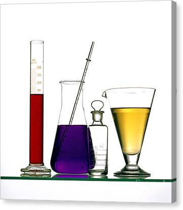 Test Canvas Print - Chemistry by Bernard Jaubert