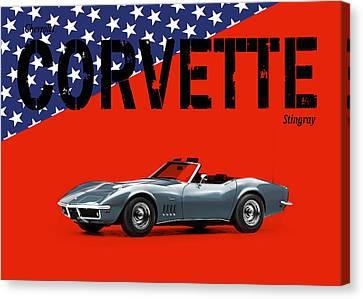 Chevrolet Corvette Stingray Canvas Print by Mark Rogan