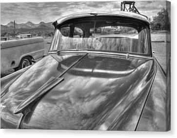 Chevy Classic Canvas Print by Tam Ryan
