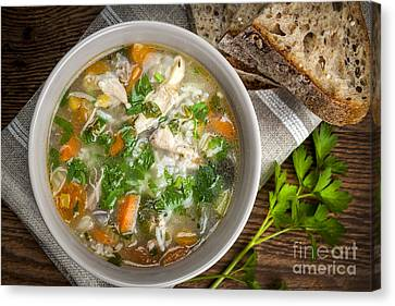 Chicken Soup  Canvas Print