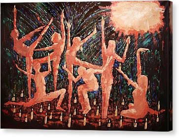 Children Of The Light Canvas Print by Anthony Falbo