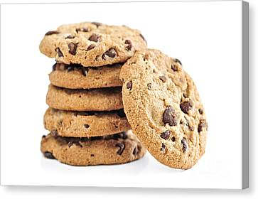 Chocolate Chip Cookies Canvas Print