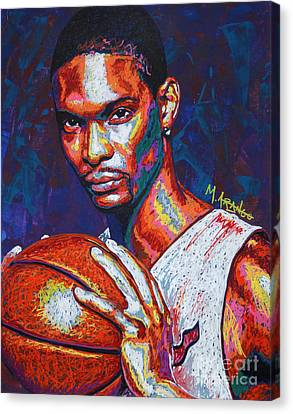 Chris Bosh Canvas Print