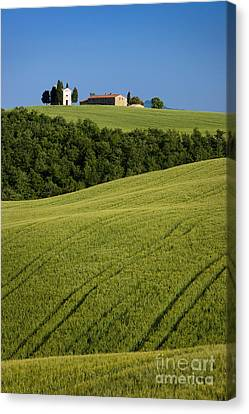 Church In The Field Canvas Print by Brian Jannsen