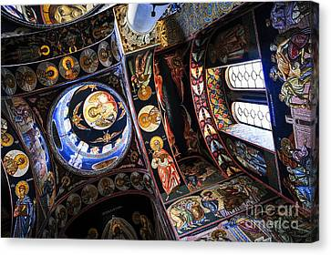 Christian Canvas Print - Church Interior by Elena Elisseeva