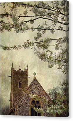 Church Canvas Print by Svetlana Sewell