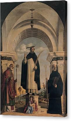 Cima Da Conegliano Giovanni Battista Canvas Print by Everett