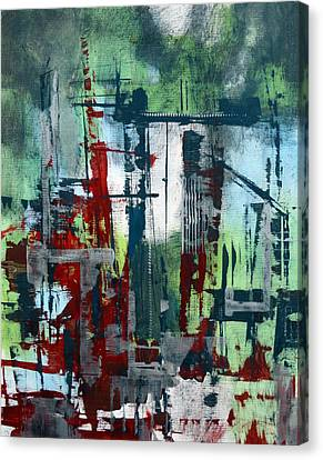 Localities Canvas Print - Cityscape by Katie Black