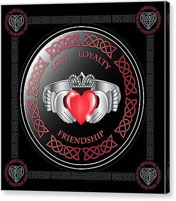 Claddagh Ring Canvas Print