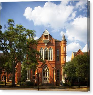 Clark Hall - University Of Alabama Canvas Print by Mountain Dreams