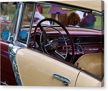 Classic American Car Canvas Print by Mick Flynn