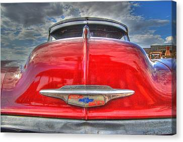 Classic Chevy Canvas Print by Tam Ryan