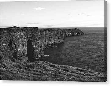 Cliffs Of Moher Canvas Print by Aidan Moran