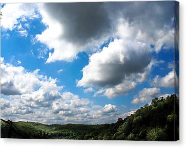 Clouds Canvas Print by Optical Playground By MP Ray