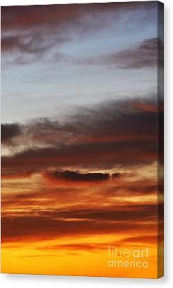 Cloudscape At Sunrise Canvas Print