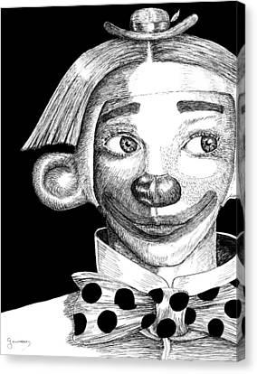 Clown Of Joy Canvas Print