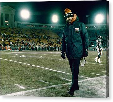 Coach Mike Ditka Canvas Print by Retro Images Archive